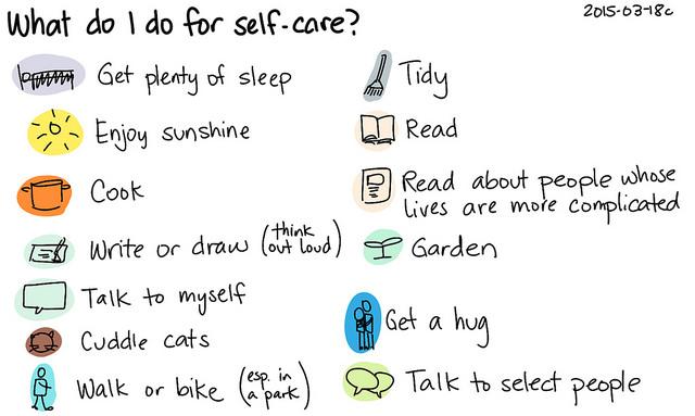 Self-care list