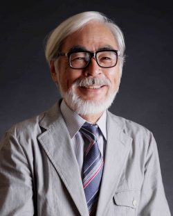 Photo of Hayao Miyazaki, one of the Japanese artists recognised for his work all across the world.